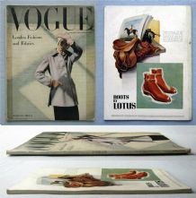 Vogue Magazine - 1946 - March